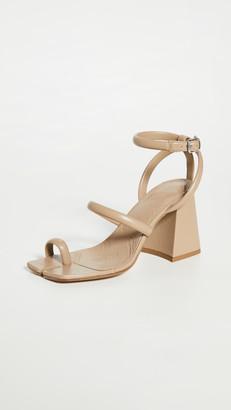 Maison Margiela Chunky High Heeled Ankle Strap Sandals