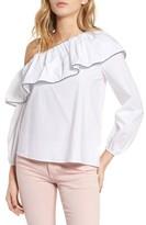 Parker Women's Kammi Ruffle One-Shoulder Blouse