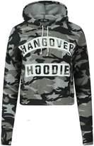 Fashion Essentials-women's Just Do It Later Print Crop Sweatshirt Hoodies (ML, )