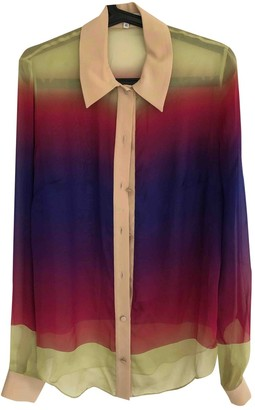 Jonathan Saunders Multicolour Silk Tops