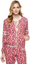 Juicy Couture Micro Terry Marina Floral Jacket