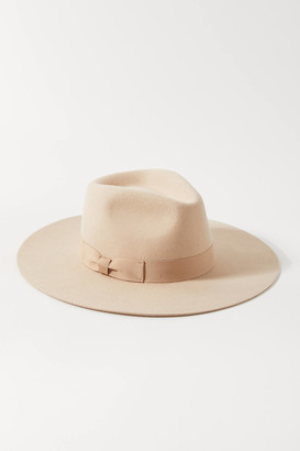 Urban Outfitters Flat Brim Felt Fedora Hat