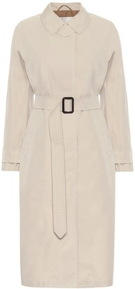 Max Mara Belted cotton trench coat