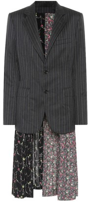 Junya Watanabe Reversible blazer dress