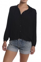 Tylho Swiss Dotted Blouse Black
