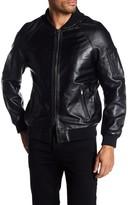 Rogue Leather Bomber Jacket