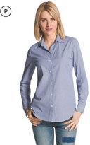 Chico's Mixed Stripe Button-Down Shirt