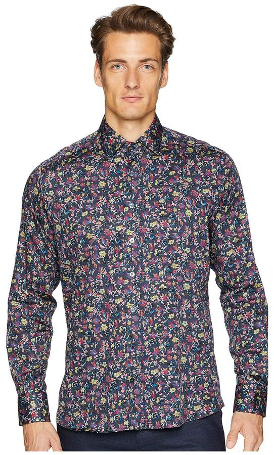 Etro New Warrant Wallpaper Floral Shirt Men's Clothing
