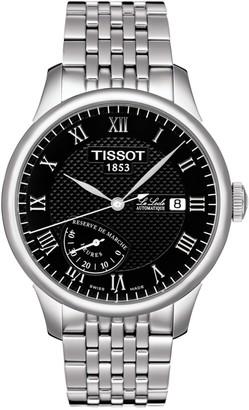 Tissot Men's Le Locle Automatic Bracelet Watch, 39.3mm
