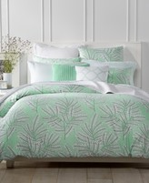 Charter Club Damask Designs Fern Mint 2-Pc. Twin Duvet Set