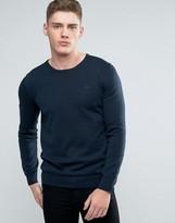 Lindbergh Sweater In Dark Blue Cotton