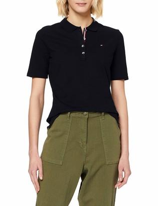 Tommy Hilfiger Women's Th Essential Reg Polo Ss Shirt