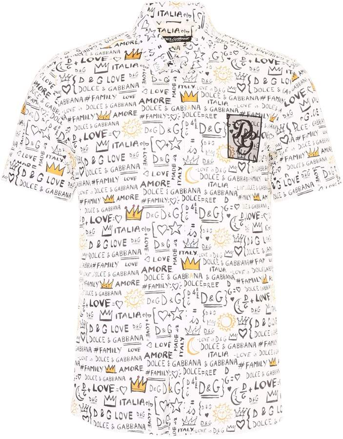 Dolce & Gabbana Printed Shirt