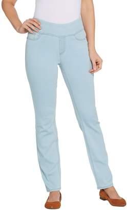 Denim & Co. Regular Soft Stretch Smooth Waist 5-Pocket Jeans