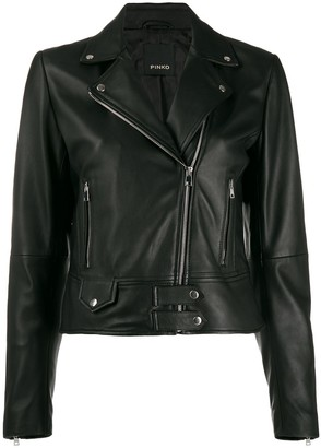 Pinko Short Biker Jacket