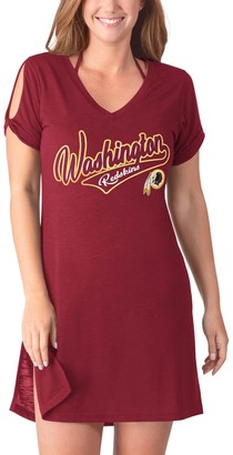 Redskins Women's G-III 4Her by Carl Banks Burgundy Washington Breakaway Swimsuit Cover-Up