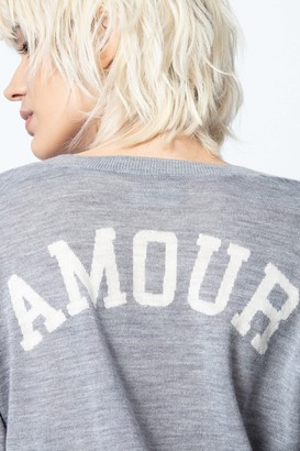 Zadig & Voltaire Happy Amour Cashmere Sweater