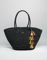 Nali Straw Shopper Bag