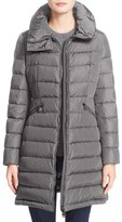 Moncler 'Flammette' Water Resistant Long Hooded Down Coat