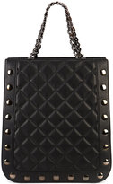 Thomas Wylde quilted shopper tote - women - Lamb Nubuck Leather - One Size