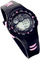 Lancardo Digital Runing Sports Watch With Red Display For Children Girls Boys (Pink)