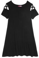 Aqua Girls' A-Line T-Shirt Dress, Big Kid - 100% Exclusive