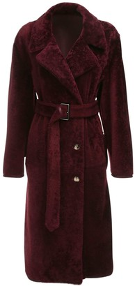 Marni Reversible Shearling & Leather Coat