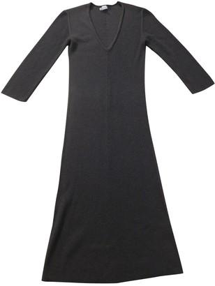 Hermes Brown Cashmere Dresses