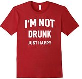 I'm Not Drunk Just Happy Funny Alcohol Party T-shirt