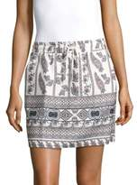 MinkPink Kashbah Printed Mini Skirt