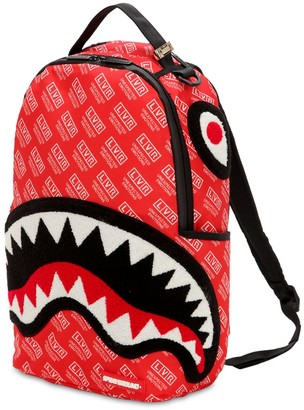 Sprayground Lvr Edition Large Logo Printed Backpack