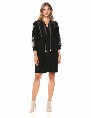 Velvet by Graham & Spencer Women's Bettina Embroidered Dress