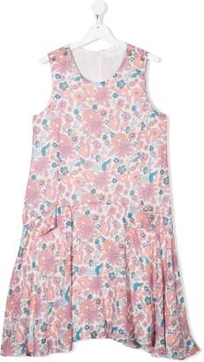 Chloé Kids TEEN floral print dress