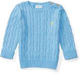 Ralph Lauren Boy Cable-Knit Cotton Sweater