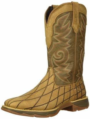 Durango Women's Lady Rebel Patchwork Western Boot Mid Calf