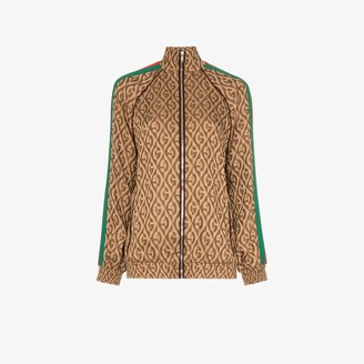 Gucci G rhombus jacquard track jacket