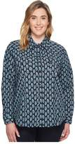 Roper Plus Size 1269 Formation Paisley Women's Long Sleeve Pullover
