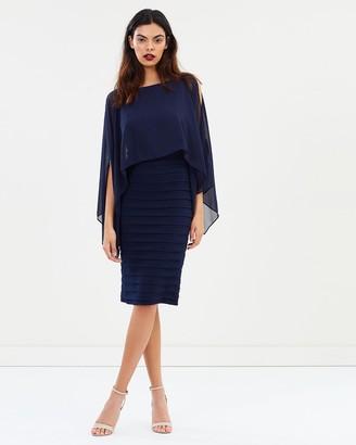 Montique Alecia Chiffon & Bandage Dress