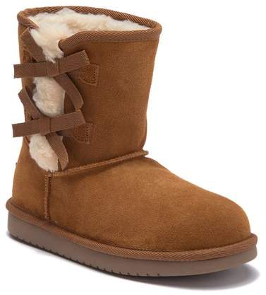 57ccc498cc2 BY UGG Victoria Faux Fur Lined Suede Short Boot (Little Kid & Big Kid)