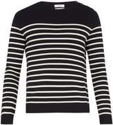 Valentino Rockstud Untitled #7 striped wool sweater