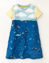 Boden Underwater Jersey Dress