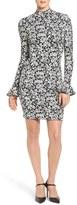 MICHAEL Michael Kors Floral Bell Sleeve Dress