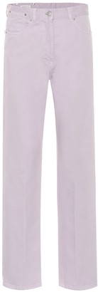 Dries Van Noten High-rise straight jeans