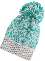 Chaos Stamp Slouchy Beanie (For Women)