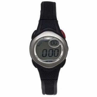Dunlop Unisex Adult Digital Quartz Watch with Rubber Strap DUN177L01