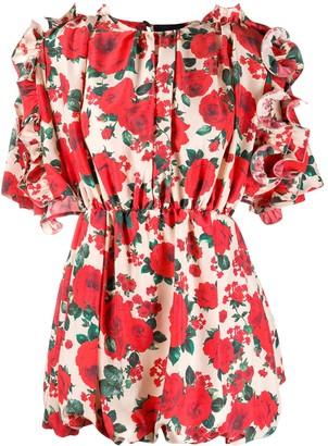 Magda Butrym Lleida silk dress