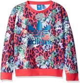 adidas Girls' Active Sweatshirt