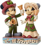 Disney Victorian Mouse ''Ringing in the Holidays'' Figure by Jim Shore