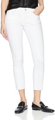 Lucky Brand Women's MID Rise Lolita Crop Jean in Clean White 33