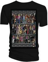 Doctor Who Mens All Doctors and Companions Colour T-Shirt (Medium)